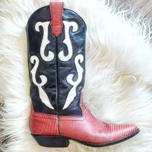 Vintage Nine West cowboy boot